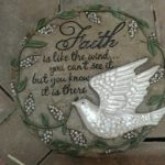 'Faith Is...' Stepping Stone